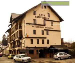 Motelul Casa Bucovineană - Cazare Bucovina, Cazare Vatra Dornei - Exterior parcare