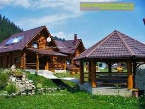 Cabana Piatra Runcului - Cazare Bucovina, Cazare Vatra Moldoviței - Exterior curte intrare