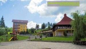 Pensiunea Steaua Nordului - Cazare Bucovina, Cazare Sadova - Exterior pensiune loc joacă