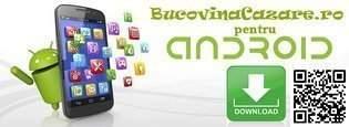 Cazare Bucovina - aplicație Android pentru Ghid Online Bucovina - cazare recomandată, restaurante și cluburi, mănăstiri și muzee, atracții turistice și agrement, rețete tradiționale din Bucovina ...
