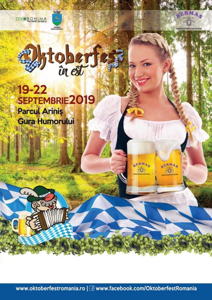 Oktoberfest în Est 2019 - Gura Humorului, Suceava, Bucovina - Zilele Humorului 2019